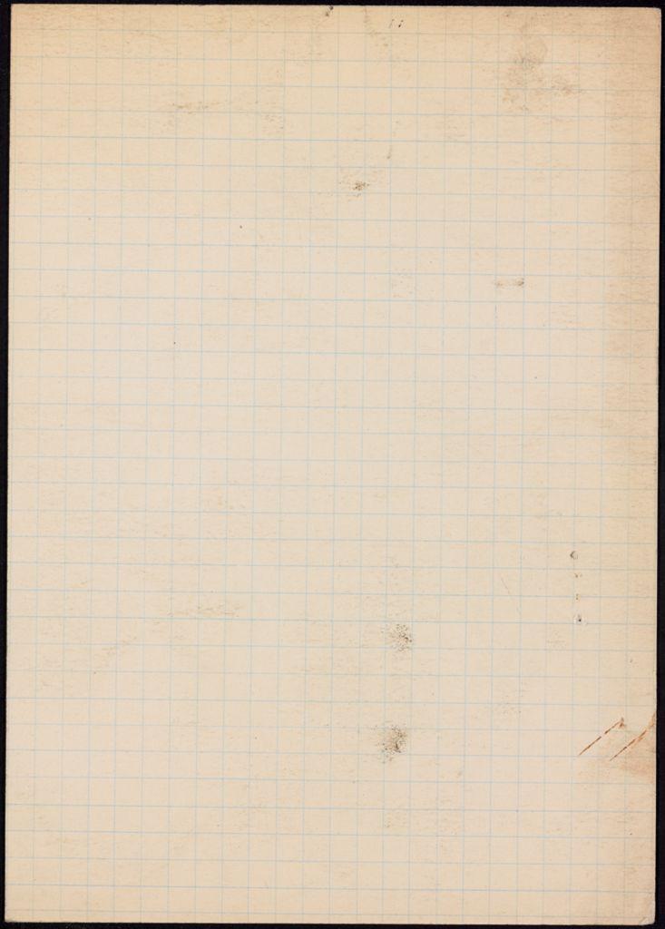 Marie-Laure Jeanneney Blank card (large view)