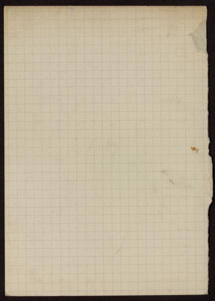Arthur W. Richardson Blank card