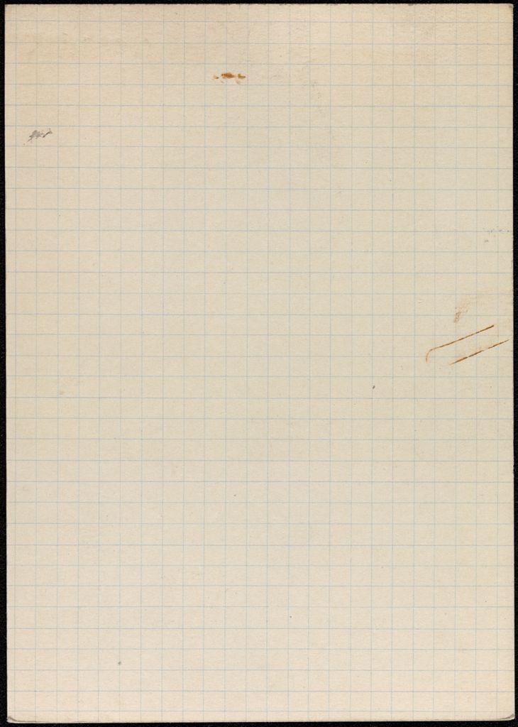 M. C. Culme-Seymour Blank card (large view)