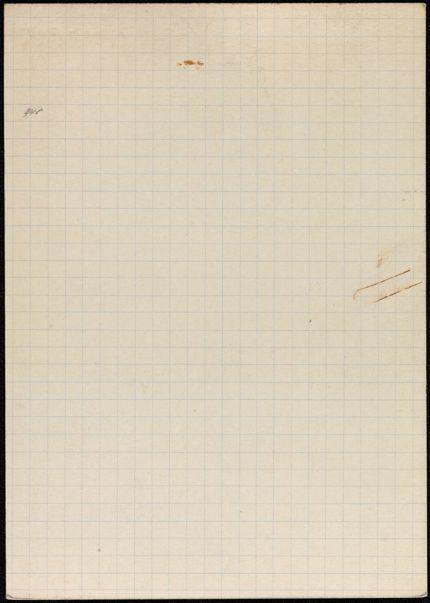 M. C. Culme-Seymour Blank card