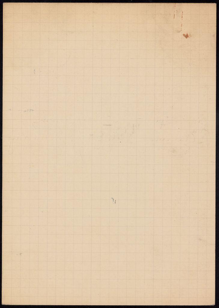 Mrs. Thomas Farrar Blank card (large view)