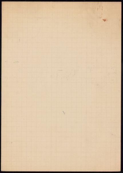 Mrs. Thomas Farrar Blank card