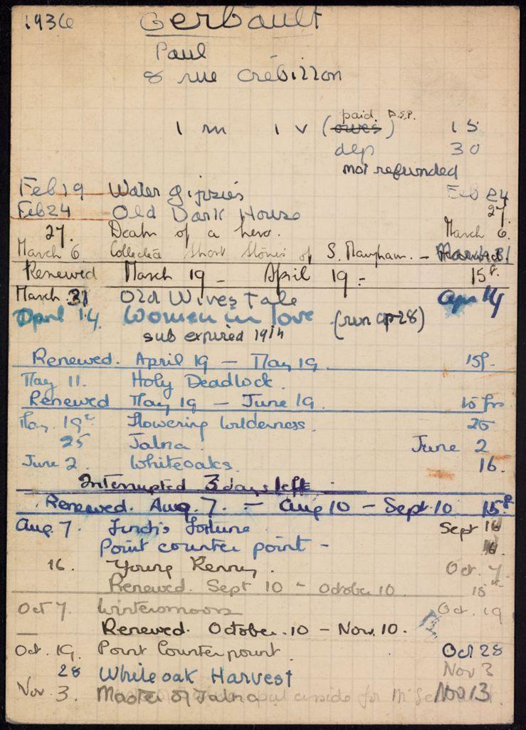 Paul Gerbault 1936 card (large view)