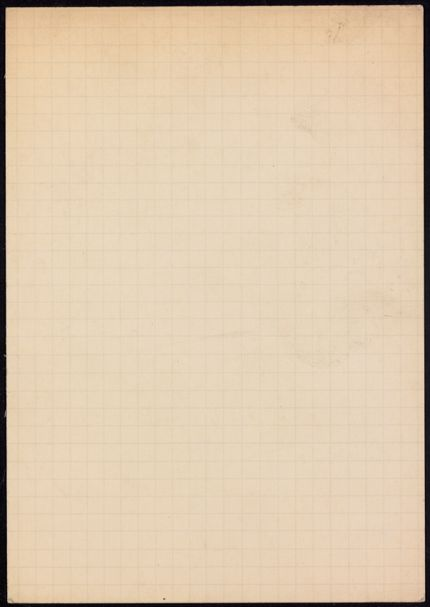 Bernard Lestocquoy Blank card