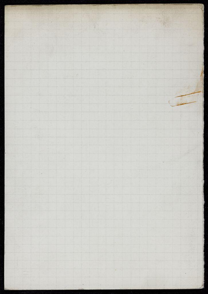Gilbert Vieillard Blank card (large view)