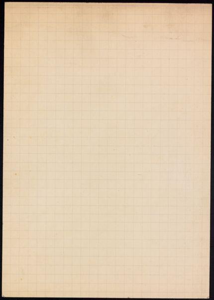 Agnes Orbison Blank card
