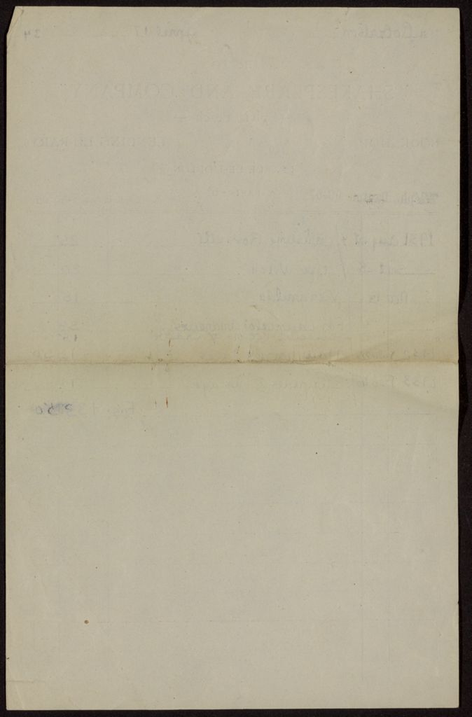 William Cowper Robertson Blank card (large view)