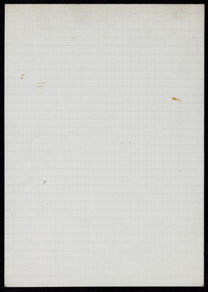 L. E. van Leer Blank card