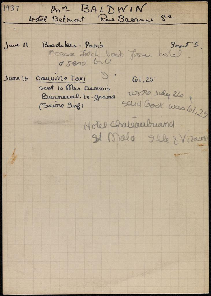 Helen Baldwin 1937 card (large view)