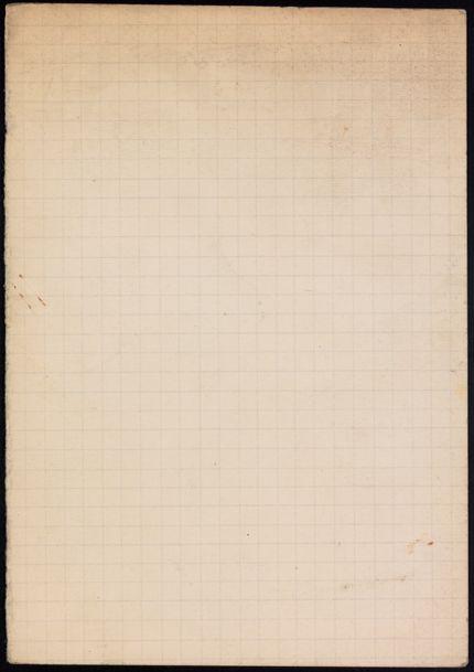 George Oppen Blank card
