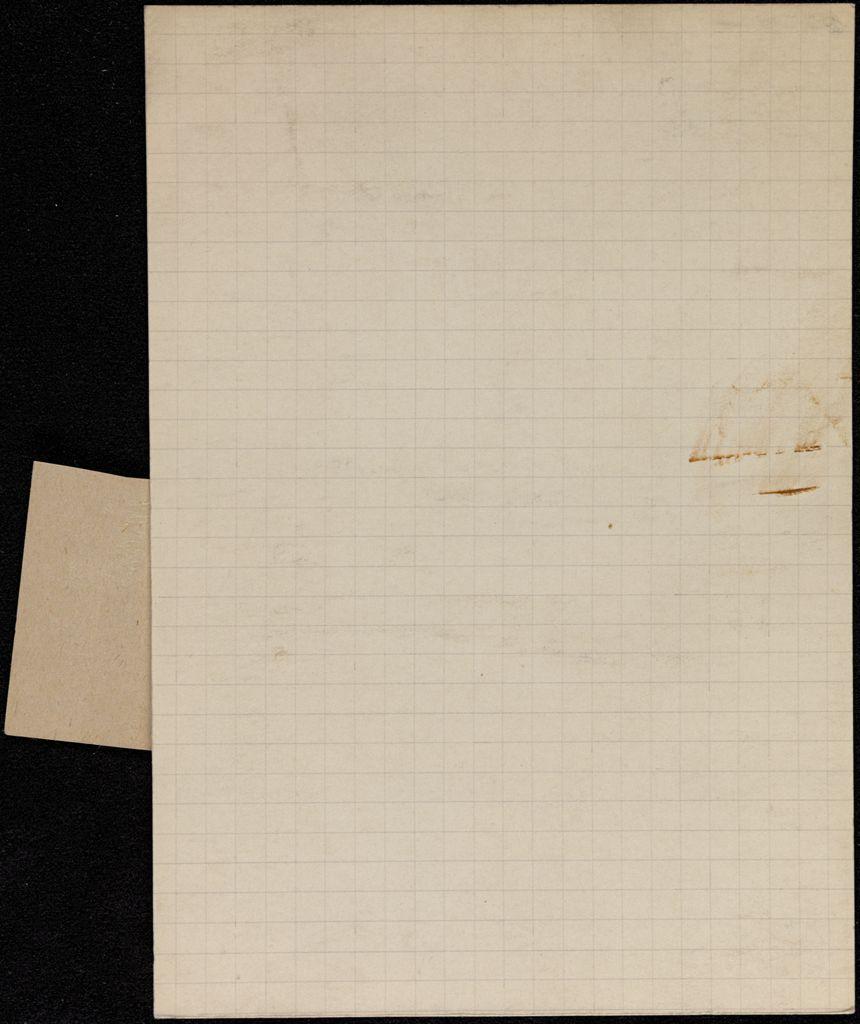 Simone de Bretteville Blank card (large view)