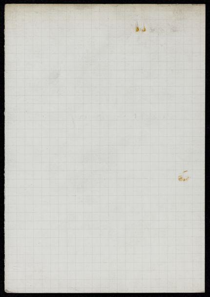 Mrs. Visser Blank card