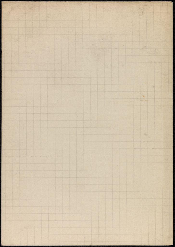 Élisabeth de Gramont Blank card (large view)