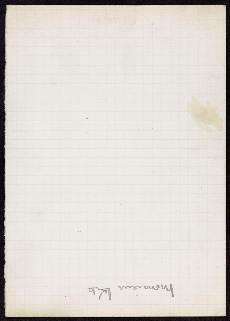 M. Melik Blank card (large view)