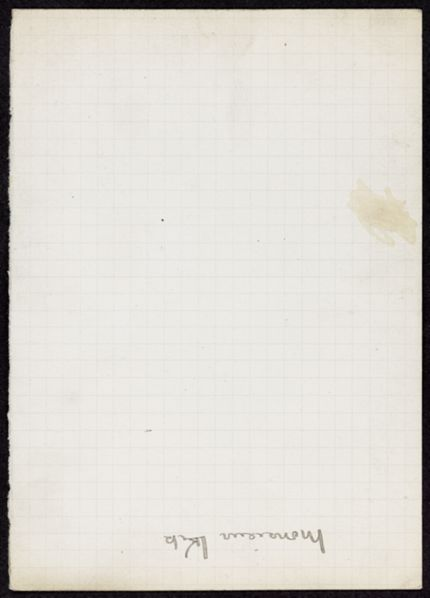 M. Melik Blank card