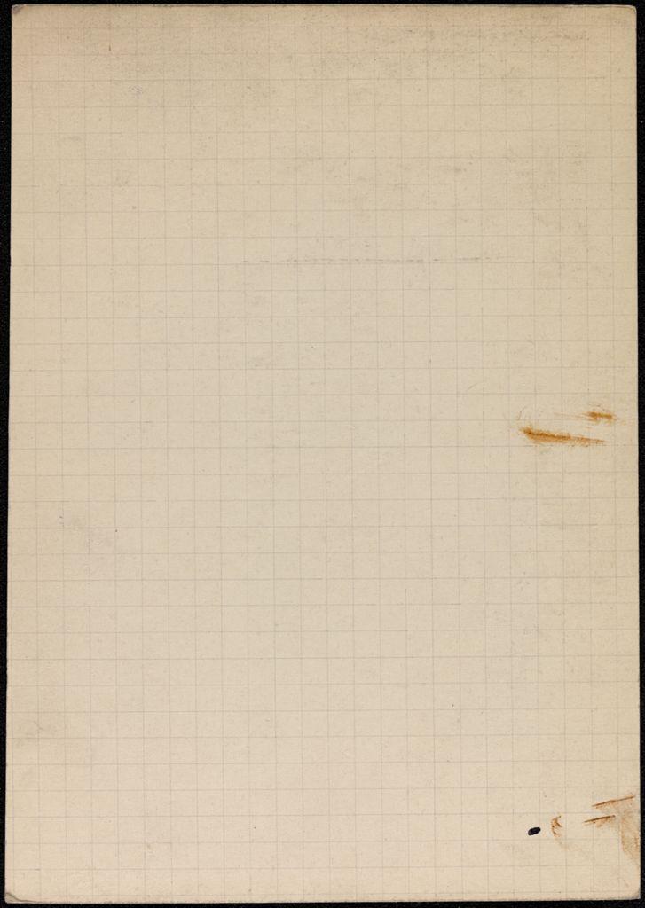 John d'Arcy Clark Blank card (large view)