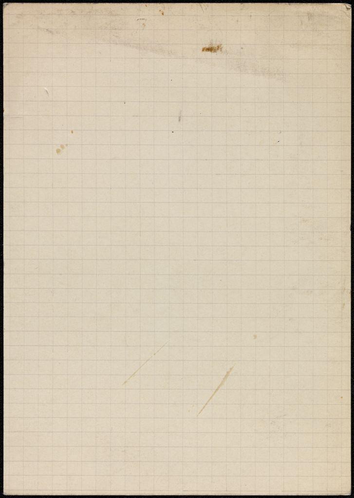 Mme B. de Couët Blank card (large view)