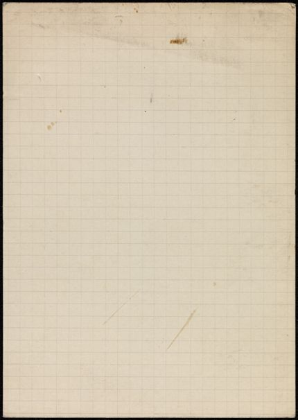 Mme B. de Couët Blank card