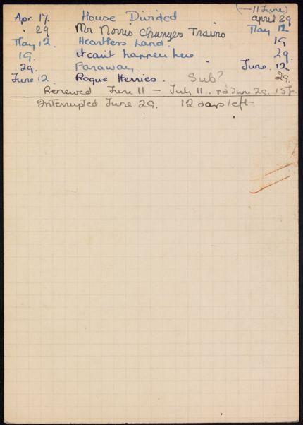 Annie Guillemin 1936 card