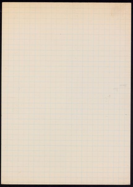 Mme Golotine Blank card