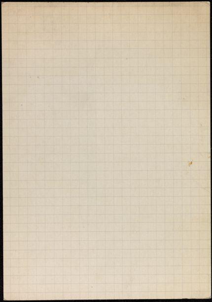 R. F. Collins Blank card