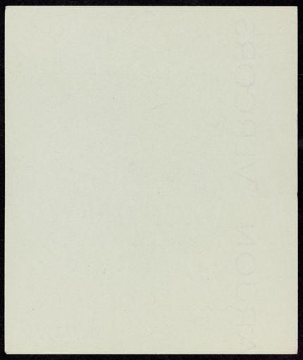 Denis Duperley Blank card