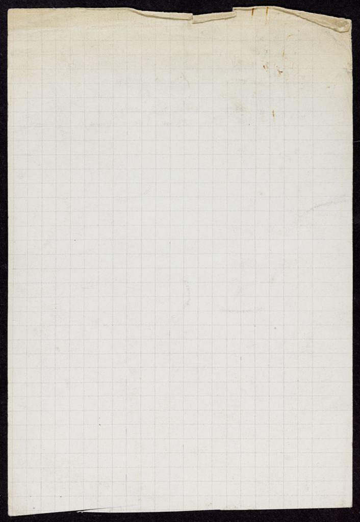 Marcel Duhamel Blank card (large view)