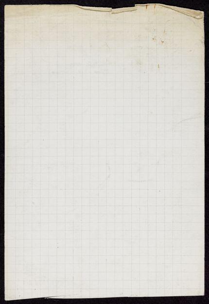 Marcel Duhamel Blank card