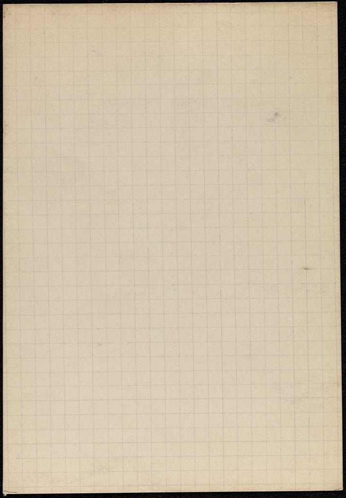 Mary Scott Burnet Blank card (large view)