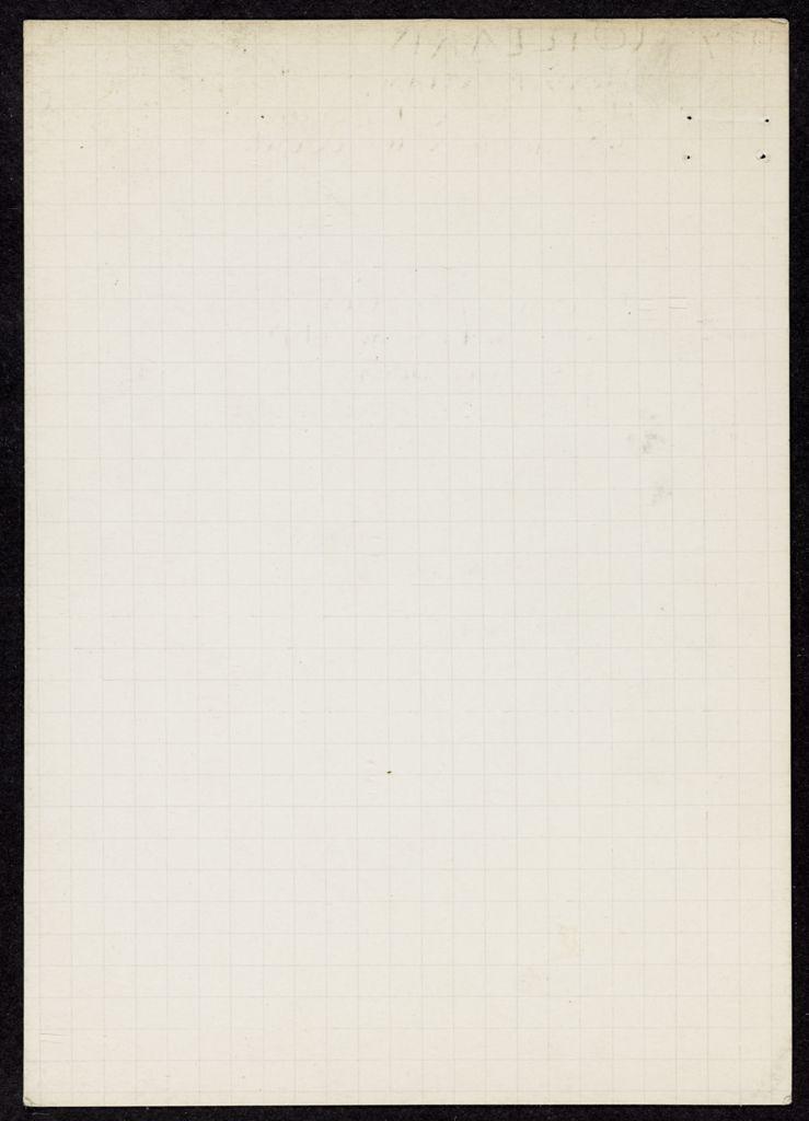 Marian Willard Blank card (large view)