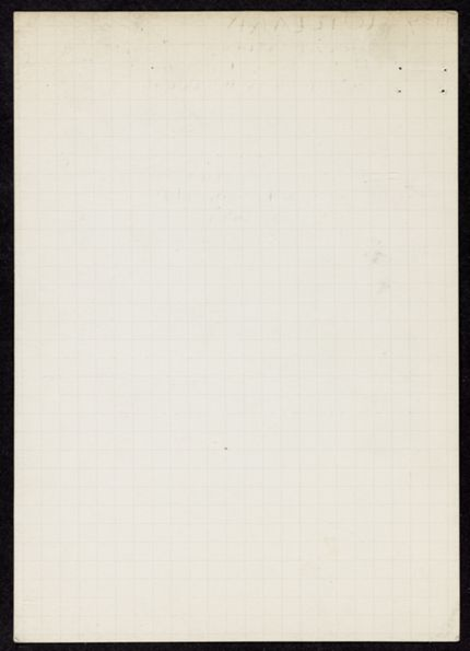 Marian Willard Blank card