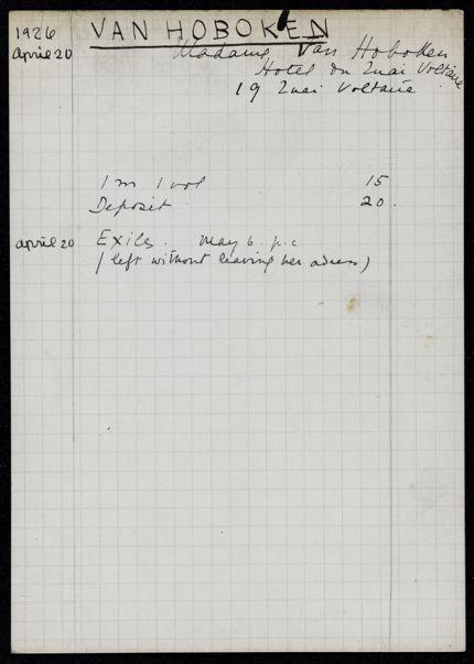 Annemarie Seidel 1926 card