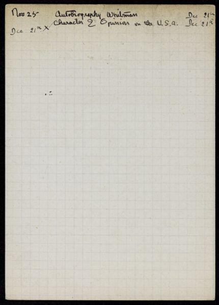 John Varney 1921 card
