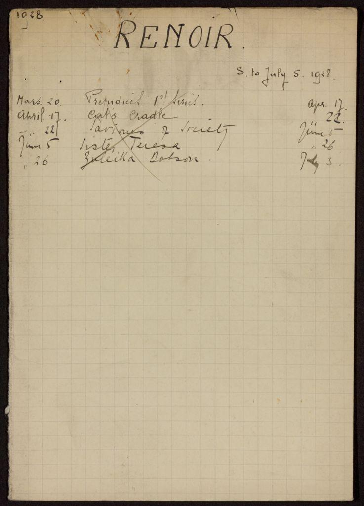 Edmond Renoir 1928 card (large view)