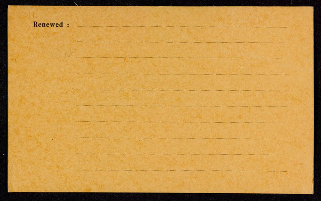 Charlotte Wilder Blank card (large view)