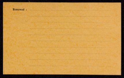 Charlotte Wilder Blank card