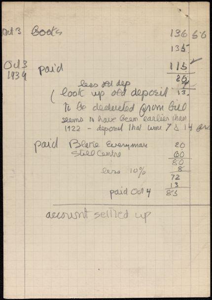 Pierre Citron 1939 card