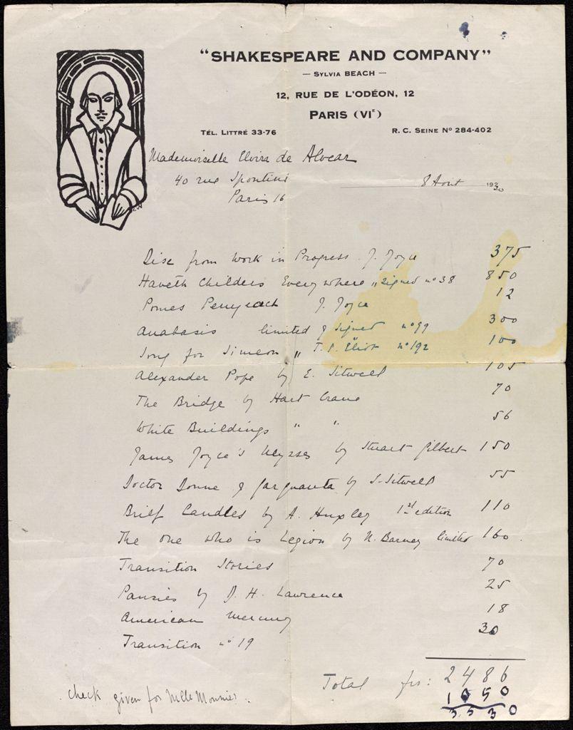 Elvira de Alvear 1930 card (large view)
