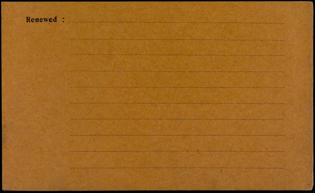 Marguerite Bloch Blank card (large view)