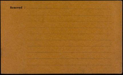 Marguerite Bloch Blank card