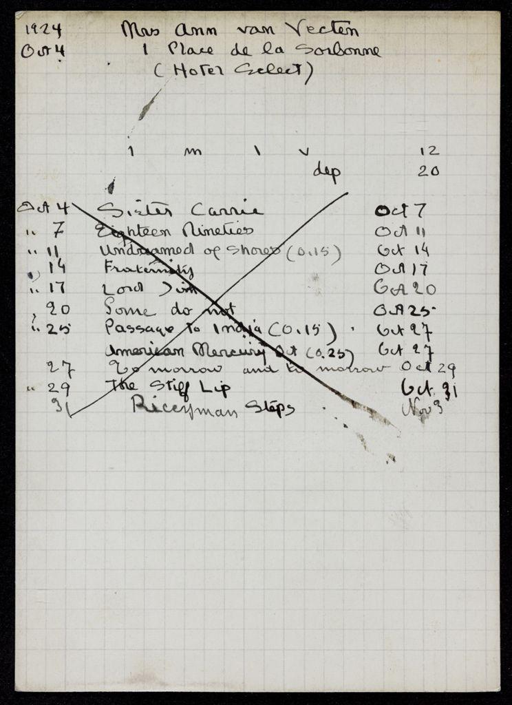 Ann van Vechten 1924 card (large view)