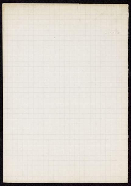 Maurice Saillet Blank card