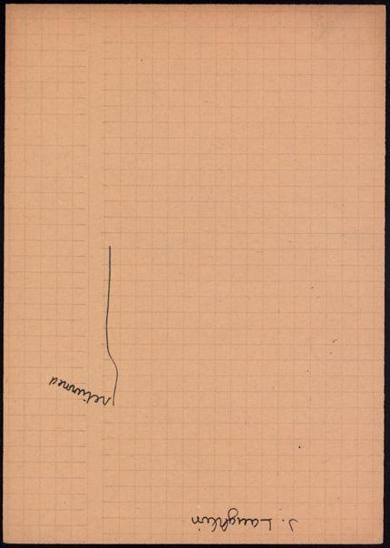 Parisot Blank card