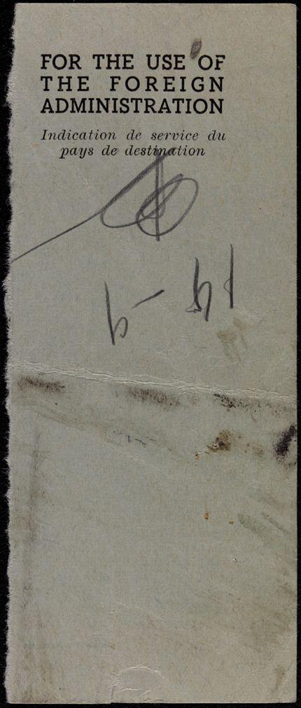 Agnes Claudius Blank card