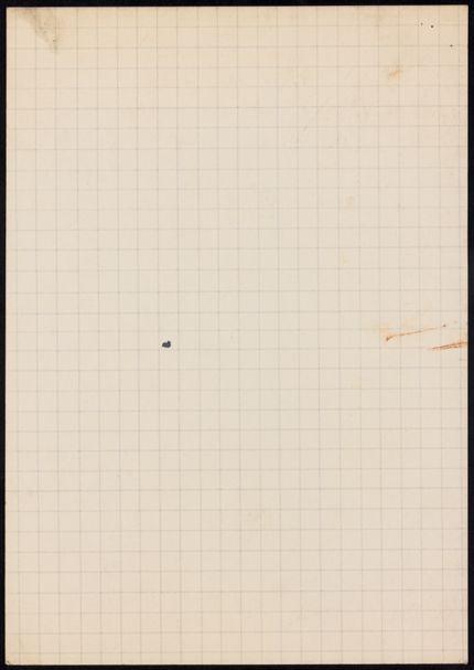 Gabriel Ferrater Blank card