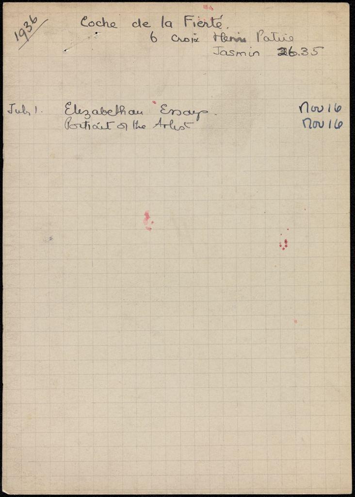 Étienne Coche de la Ferté 1936 card (large view)