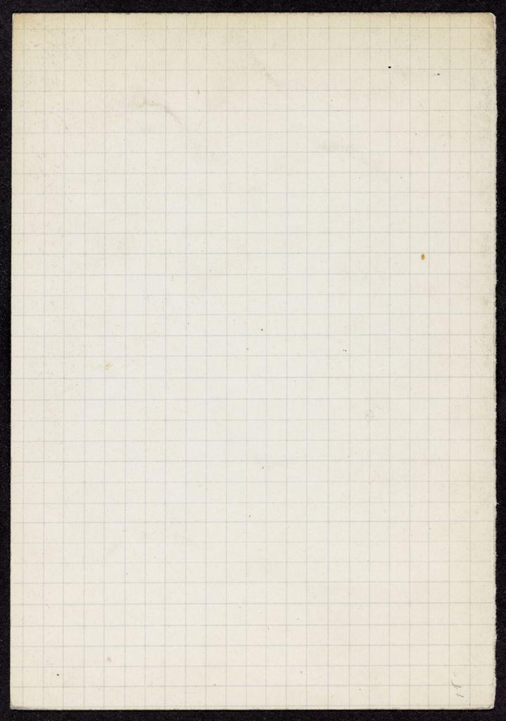 Madeleine Milhaud Blank card (large view)