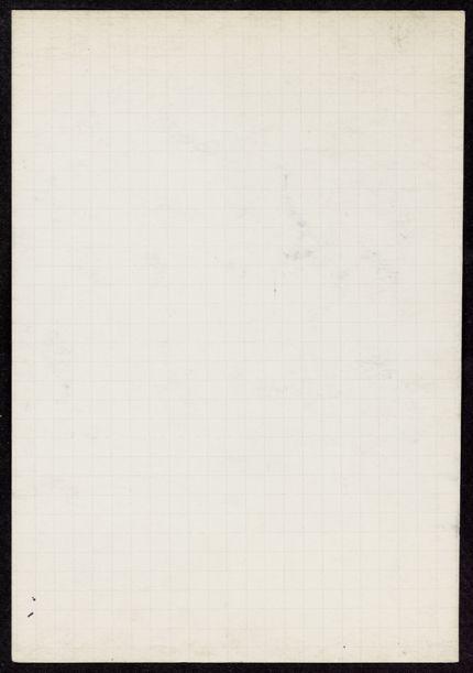 D. S. S. Mackenzie Blank card