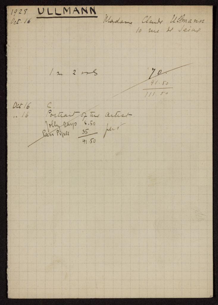 Lisette Ullmann 1928 card (large view)