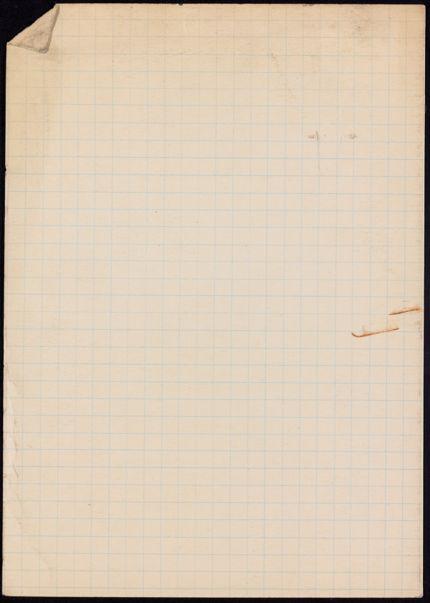 Jacques Heurgon Blank card